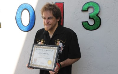 Justin Voltaggio – Greater Opportunities Graduate, and Special Olympian of the Year